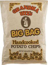 Grandma Utz's BIG BAG Handcooked Potato Chips 4 Pack/15 oz Each