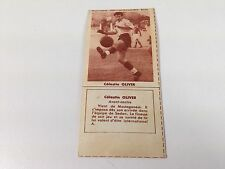 FOOTBALL BISCUITS REM REIMS CELESTIN OLIVER  50s NO PANINI