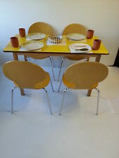 cafe table cafe chair bistro restaurant canteen hotel tables stacking chairs yel