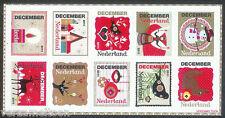 NVPH 2887-2896  DECEMBERZEGELS 2011 serie postfris