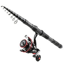 1.8M-3.0M Fishing Rod and Reel Combos Telescopic Fishing Pole Spinning Reels