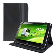 KWMOBILE Housse de protection pour Acer Iconia a510 a511 a700 Noir sac cuir synthétique