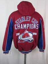 Colorado Avalanche NHL Men's G-III Stanley Cup Midweight Jacket
