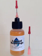 Liquid Bearings, 100%-synthetic train oil for Precision Craft or any model RR!!