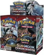 Pokemon Sun & Moon CRIMSON INVASION 36 Pack BOOSTER BOX Factory Sealed Brand New