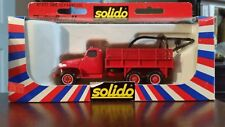 Solido Toner GMC Depanneuse Fire Tow Truck Wreaker,1:50, #3117,Diecast Metal-NIB