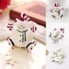 Fashion Christmas Enamel Snowman Brooch Pin Christmas Gift Xmas Brooches Jewelry