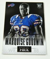 2013 Panini HRX Marquise Goodwin autographed card signed Bills RC