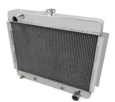 "1966-1967 Chevy Nova V8 conversion Alum 2 Row 1""Tubes American Eagle Radiator"