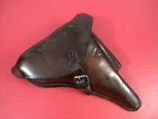 Wwi German Brown Leather Holster for Luger P08 Pistol - J.M. Eckart 1917 - Nice
