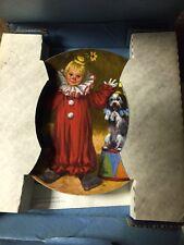 Vtg 1983 Set of (4) Reco Mcclelland Children's Circus Collection W/Coa
