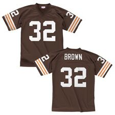 Jim Brown Cleveland Browns Mitchell and Ness Throwback Jersey M 0e3c6bf97