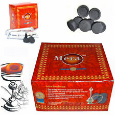Genuine Mera Coal Tablets Nargila Instant Meera Hookah Sheesha 80 Disc Charcoal