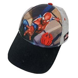 Spider-Man Marvel Kids Ball Cap Hat Snapback Baseball