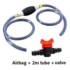 Car Fuel Tank Sucker Oil Transfer Car Fuel Pump Liquid Manual Pump With Tube Valve