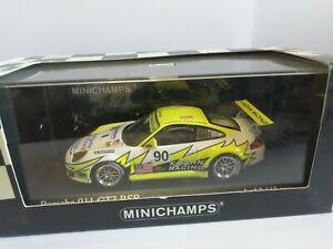 MINICHAMPS PORSCHE 911 GT3 RSR 24H LE MANS 2006 1/43