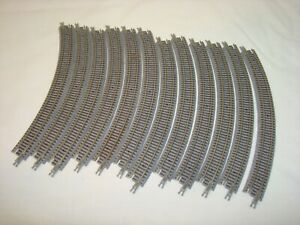 Micro-Trains Z Scale Curved Track 195mm X 45 degree
