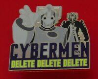 Danbury Mint Enamel Pin Badge BBC TV Doctor Who Dr Who Cybermen Character