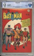 Batman # 32  The Three Musketeers !  CBCS 4.5 scarce Golden Age book !