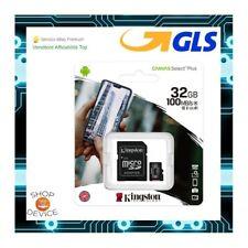 Kingston Micro SD 32GB Class 10 UHS --ULTIMO MODELLO-- Memoria SPEDIZ CON POSTA1