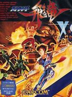 STRIDER HIRYU SHARP X68000 Game Japan USED