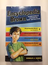 Encyclopedia Brown Box Set (4 Books) by Donald J. Sobol, (Paperback), Puffin Boo