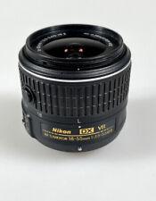 Nikon Nikkor 18-55mm F/3.5-5.6 G AF-S DX VR II Black Autofocus Lens {52} EX