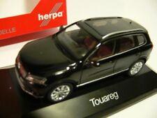 1/43 Herpa VW Touareg negro 070942
