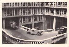 SELTEN Foto AK 1958@Rotterdam Oprit Groothandelsgebouw@Gebäudeauffahrt Oldtimer