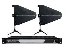 Uhf Antenna Distributor Amplifier Wireless Microphone System working range 400 M