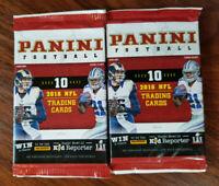 2016 Panini Football cards (2 packs x 10 cards = 20) Goff, Zeke, etc