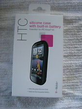 New powerskin silicone case Built-in Battery HTC Amaze 4G