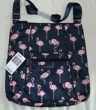 Vera Bradley Hipster Flamingo Fiesta Crossbody Shoulder Bag Outlet