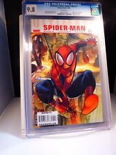 Ultimate Comics Spider-Man 1 CGC 9.8 NM/M Highest Graded!  White Pages!