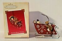 "Hallmark Keepsake Christmas Ornament ""Santa's Magic Sleigh"" 2003 Fast Shipping"