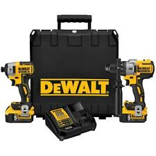 DeWALT DCK299P2 20-Volt Lithium-Ion Hammerdrill and Impact Driver Combo Kit
