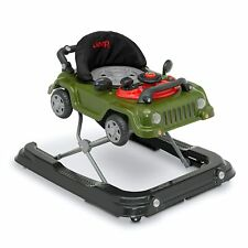Jeep Classic Wrangler 3-in-1 Grow With Me Walker, Green Push Behind Rolling Car