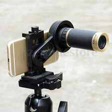 Universal Astronomical Telescope Smart Phone Camera Mount Holder Adapter Clip 5D