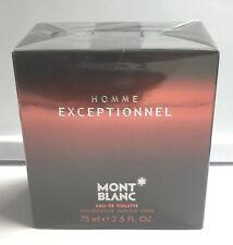Exceptionnel Homme By Mont Blanc For Men 2.5 oz/75 ml Eau de Toilette Spray NIB