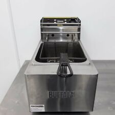 More details for commercial fryer single table top fries chip buffalo l490
