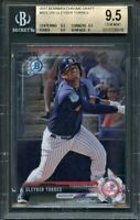 2017 bowman chrome draft #bdc200 GLEYBER TORRES rookie BGS 9.5 (9.5 9.5 9.5 9)