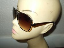 8744c449c0 FOSSIL FOS 2004S S Brown Silver Frame Silver Mirrored Lenses Sunglasses
