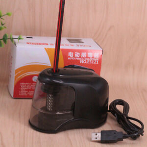 Automatic Pencil Sharpener Electric Sharpeners Battery & USB Operated Stationery