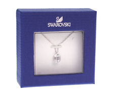 Swarovski Pave Crystal Square Diamond Ladies Pendant Necklace