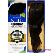 """MODEL MODEL NUDE BRAZILIAN UNPROCESSED VIRGIN REMY LACE INVISIBLE CLOSURE 15"""""""