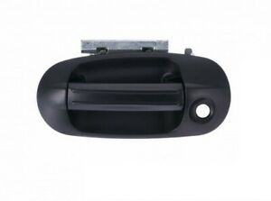 for 2003 2014 Ford Expedition LH Door Handle Outside Smooth Black With Keyhole