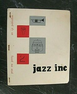 JAZZ INC. ISSUE no.2 1954. INNSWORTH (GLOUCESTER) JAZZ CLUB PUBLICATION.