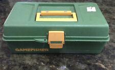 Vintage Sears Gamefisher Tackle Box. Fishing. Storage.