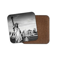 Statue of Liberty Coaster - New York City USA America Travel Cool Gift #12199