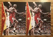 1994-95 SP Michael Jordan He's Back Red #MJ1 Bulls Lot Of 2 HOF GOAT